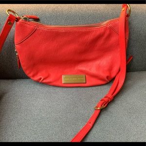 Bright coral Marc by Marc Jacobs hobo crossbody